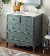 Cottage Look Daleville Bathroom Sink Vanity Model HFY - Vantage furniture