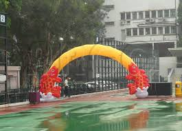 Halloween Inflatable Arch by