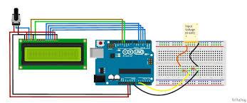 symbols appealing digital arduino voltmeter temperature steps