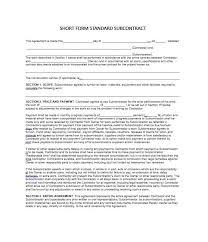 work contract agreement sample job work agreement contract job