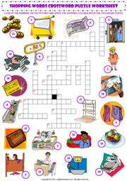 shopping esl printable worksheets and exercises