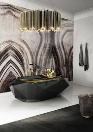 bathroom modern bathroom ideas grasscloth wallpaper modern