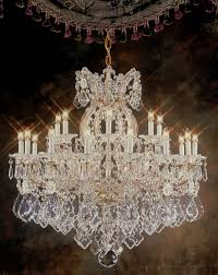 dining room crystal chandelier lighting image on fancy home