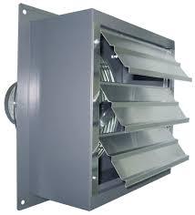 high cfm industrial fans sd exhaust fan w shutters 2 speed 14 inch 2180 cfm direct drive s14
