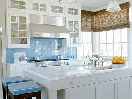 blue kitchen decorating ideas tremendeous and white kitchen cabinets blue callumskitchen