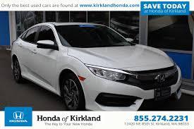 honda certified cars certified pre owned 2016 honda civic sedan ex 4dr car in kirkland