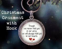 Baby Keepsake Ornaments Miscarriage Ornament Etsy