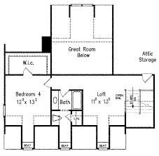 Parts Of A Cathedral Floor Plan by Country Style House Plan 3 Beds 2 5 Baths 2648 Sq Ft Plan 927