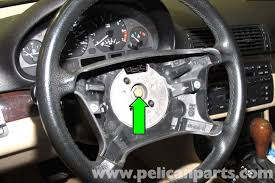 bmw 325i steering wheel bmw e46 steering wheel and airbag replacement bmw 325i 2001