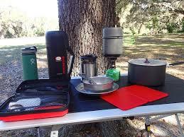 Kitchen Table Close Up Pocketfullofwanderlust U2013 Toyota Tacoma Camping Kitchen