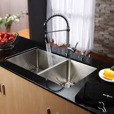 Vigo Stainless Steel Pull Out Kitchen Faucet by Kitchen Design Marble Countertop With Backsplash Venezuela Gold