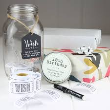 wedding wish jar 18th birthday wish jar by nest notonthehighstreet