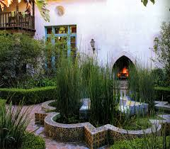 Spanish Style Courtyards by Spanish Tile Check Moorish Architecture Check Fountain Check