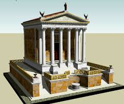 Decoration Of Temple In Home Temple Of Caesar Wikipedia
