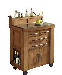 cherry wood red shaker door kitchen carts and islands backsplash