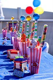 Carnival Themed Table Decorations 247 Best Kai U0027s Carnival Birthday Party Images On Pinterest