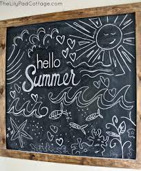 hello summer summer chalkboard summer chalkboard chalkboards