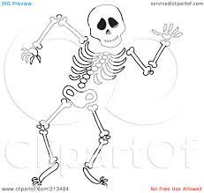 Halloween Skeleton Clip Art 0 Skeleton Clip Art Clipart Fans