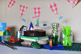14 camping birthday party ideas for little campers at heart cafemom