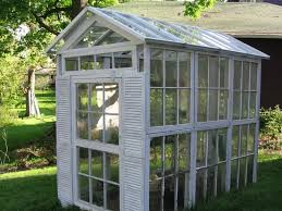 Upcycling Old Windows - collection how to make a greenhouse out of old windows photos