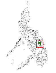 Phillipines Map Map Showing The Province Of Leyte Philippines Overview Ma U2026 Flickr