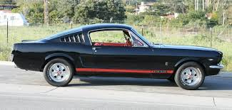 Black 67 Mustang Coupe 1965 1966 1967 1968 1969 1970 Mustang Fastback Boss Mach 1 One