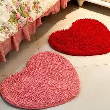online get cheap red bath rug aliexpress com alibaba group 50 60cm microfiber memory foam soft shaggy non slip absorbent bath mat bathroom shower rugs