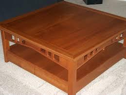 coffee table walnut round cherry t thippo