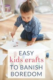 the best simple kids crafts and boredom busters the crazy craft lady