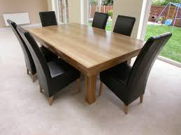 solid wood dining room chairs 7 piece solid pine dining table