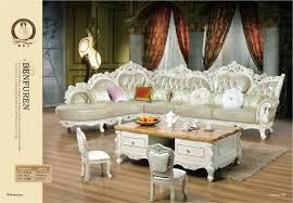 canapé de luxe fauteuil chaise pouf style européen ensemble canapés en muebles de