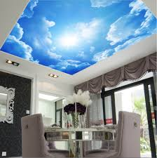 aliexpress com buy starry night pub and bar ceiling murals