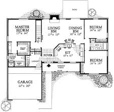 ranch floor plans simple ranch house plans home design