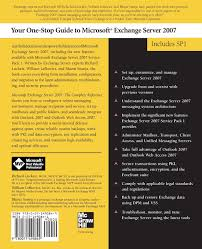 microsoft exchange server 2007 the complete reference richard