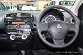 mitsubishi attrage engine mitsubishi mirage 2014 bangkok motor show interior indian autos blog