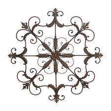 home decorators collection iron scrolled wall plaque 8540500000
