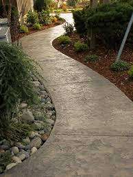 25 beautiful concrete path ideas on pinterest cobblestone