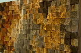 rustic wood wall wood wall sculpture abstract wood mosaic