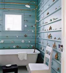 Blue Bathroom Decorating Ideas Royal Blue Bathroom Decor Floating White Washbasin Under The