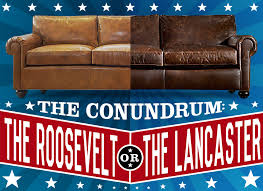 Lancaster Leather Sofa Rh U0027s Lancaster Vs The Roosevelt Of Iron U0026 Oak