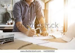 woman hand using pencil drawing sketching stock photo 205192957
