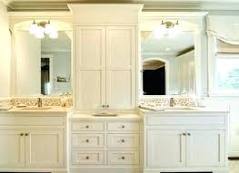 Bathroom Countertop Storage Bathroom Vanity Storage Tower Traditional Bathroom By Design