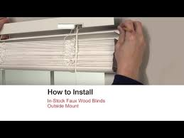 Where To Buy Wood Blinds How To Install Blinds And Shades Bali Blinds And Shades