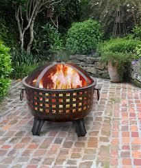 Landman Firepit Landmann 26360 Garden Lights Firepit Antique