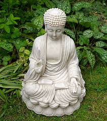 size large buddha garden statue ornament berkshire large