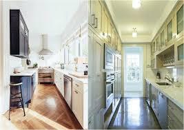comment am駭ager une cuisine en longueur comment aménager une cuisine en longueur suite encore 30 idées