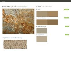 golden crystal granite collection natural stone slabs daltile