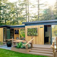 Office In A Shed Great Ideas For Outdoor Rooms Sunset