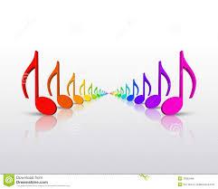 rainbow music notes clipart clipartxtras