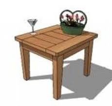 Free Plans To Build End Tables by Cedar End Tables Foter